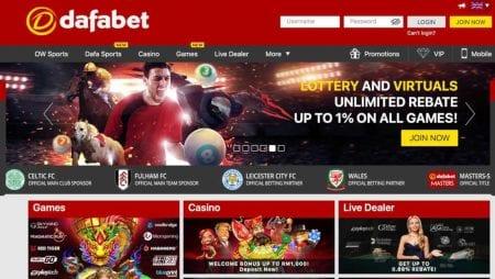 Cá cược bóng đá trực tuyến qua Dafabet cực hấp dẫn