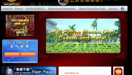 SGD777 Casino online link vào SGD777.COM nhanh nhất