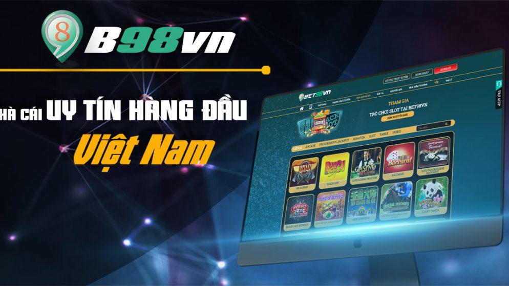 BET98 nhà cái cá cược thể thao casino trực tuyến uy tín