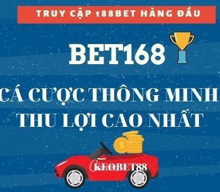 Bet168 Việt Nam trang cá cược uy tín hàng đầu Việt Nam