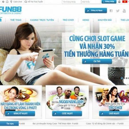 Casino Fun88 trải nghiệm sòng bài trực tuyến casino online