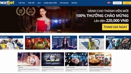 Nhà cái Nextbet cá cược trực tuyến uy tín đến từ châu Âu