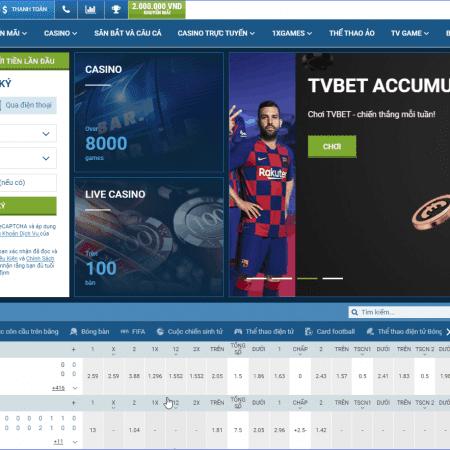 1xbet thể thao – nơi thỏa sức đam mê cá cược trực tuyến