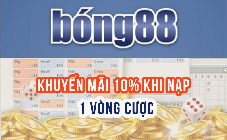 Đăng ký tài khoản tại nhà cái bong88 nhận thưởng khủng