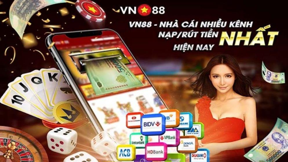 Nạp tiền vn88 đơn giản nhanh chóng nhất hiện nay