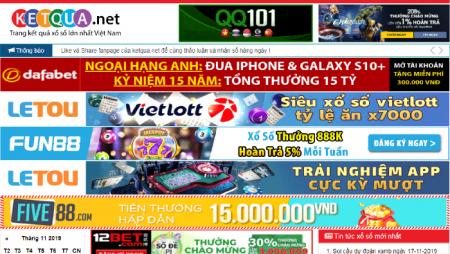 Ketqua.net – Trực tiếp kết quả xổ số 30 ngày nhanh nhất