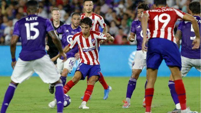 Phong độ thi đấu của Atletico đang được đánh giá cao