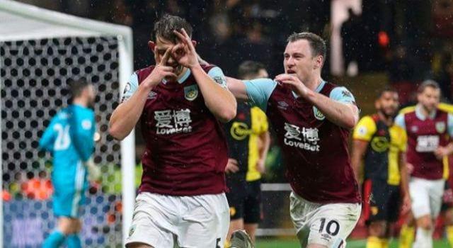 Burnley đã giành chiến thắng trước Watford ở trận lượt đi