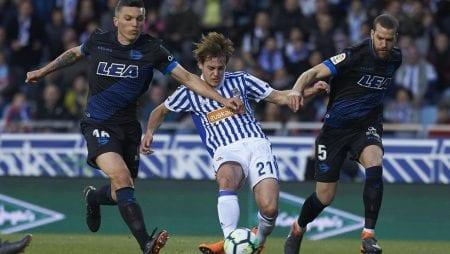 Soi kèo trận đấu Deportivo Alaves vs Real Sociedad – 00h30 ngày 19/06/2020 – VĐQG Tây Ban Nha
