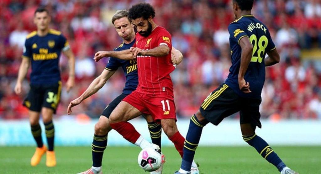 Ngược lại, Liverpool lại thi đấu khá ung dung
