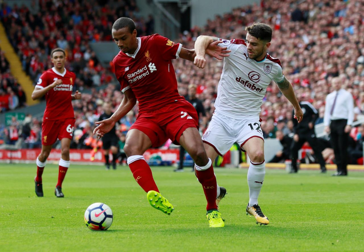 Liverpool đang giữ vị trí ngôi đầu Ngoại Hạng Anh