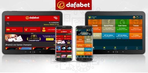 Ứng dụng dafabet mobile
